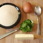 Zutaten für die Grießnockerlsuppe
